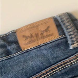 Levi's Shorts - Levi's Jean Short Shorts